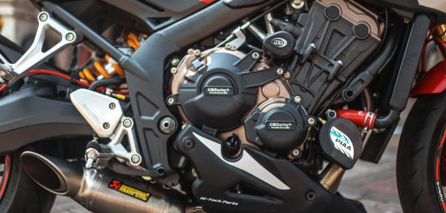 Honda CB650F man ma voi dan option Accossato - 7