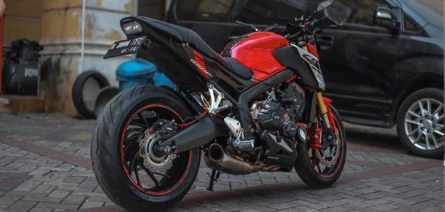 Honda CB650F man ma voi dan option Accossato - 9