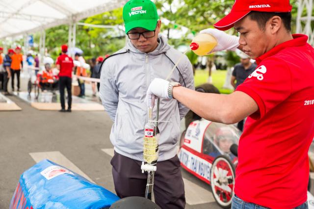 Honda VN khoi dong Cuoc thi Lai xe sinh thai Tiet kiem nhien lieu lan thu 10 - 4