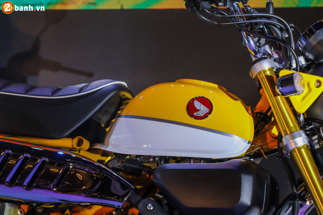 Can canh Monkey 125cc Mau Minibike nay chinh thuc co mat tai VN voi gia ban kha cao - 5