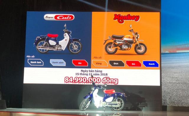 Can canh Monkey 125cc Mau Minibike nay chinh thuc co mat tai VN voi gia ban kha cao - 23