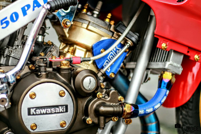Kawasaki Kips 150 do kho tho voi heo Brembo Moto3 sieu dat gia - 6