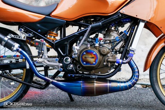 Kawasaki KRR ZX150 Trong ban do dam chat Racing den tu Xu chua vang - 3