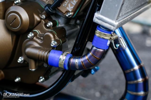 Kawasaki KRR ZX150 Trong ban do dam chat Racing den tu Xu chua vang - 17
