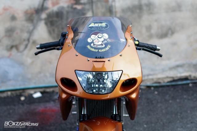 Kawasaki KRR ZX150 Trong ban do dam chat Racing den tu Xu chua vang - 20