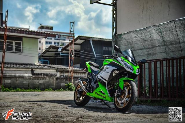 Kawasaki Ninja 250 ve dep thua huong tu nhung trang bi toi tan - 3