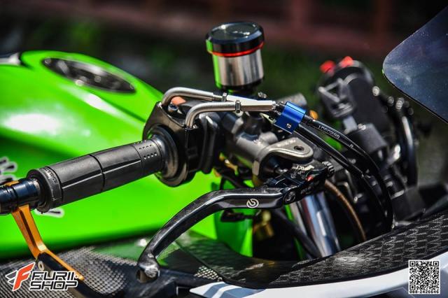 Kawasaki Ninja 250 ve dep thua huong tu nhung trang bi toi tan - 5