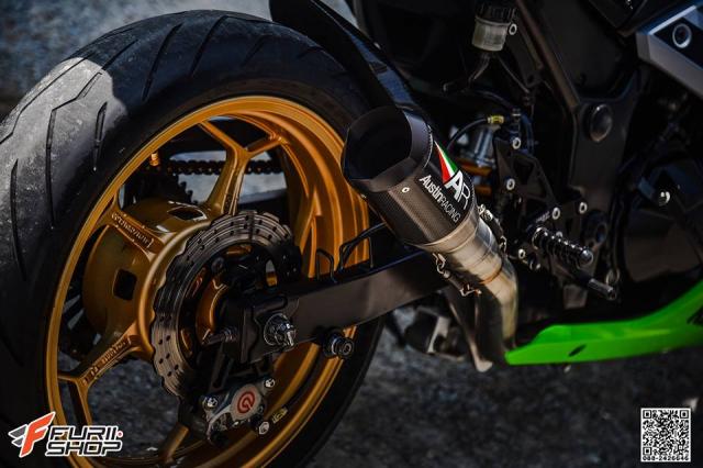 Kawasaki Ninja 250 ve dep thua huong tu nhung trang bi toi tan - 13