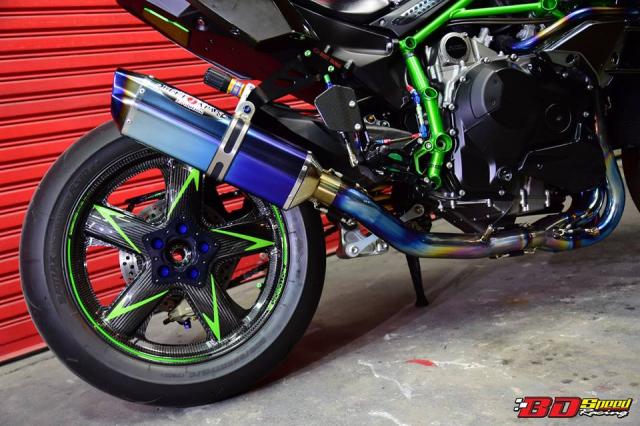 Kawasaki Ninja H2 ve dep khoi tao tu Sieu pham Superbike - 16
