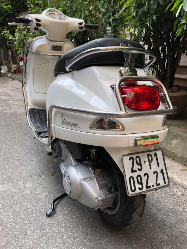 LX 125ie VN Trang bien 29P1 09221 doi cuoi 2011 it su dung den 275 trieu chinh chu nu di giu - 2