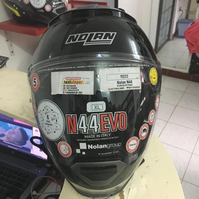 MTstore Nolan N44 Glossy Black - 8
