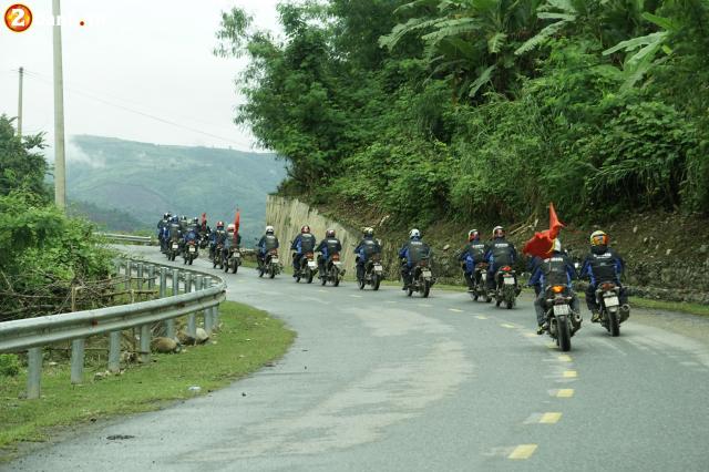 Phan II Exciter 150 2019 cung hanh trinh xuyen Viet 3500 km tu Sai Gon den Ha Giang - 12