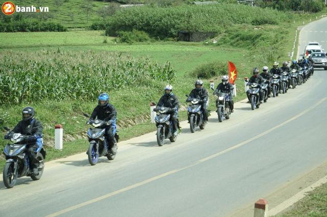 Phan II Exciter 150 2019 cung hanh trinh xuyen Viet 3500 km tu Sai Gon den Ha Giang - 6