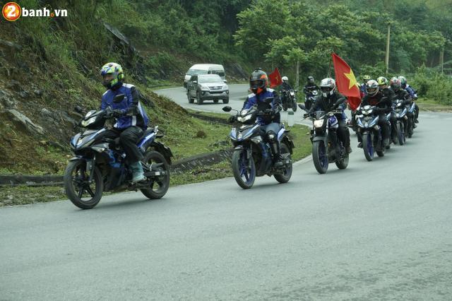 Phan II Exciter 150 2019 cung hanh trinh xuyen Viet 3500 km tu Sai Gon den Ha Giang - 15