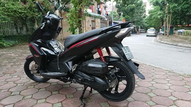 Rao ban Honda Air blade 125fi Black Edition den mo chinh chu bien HN