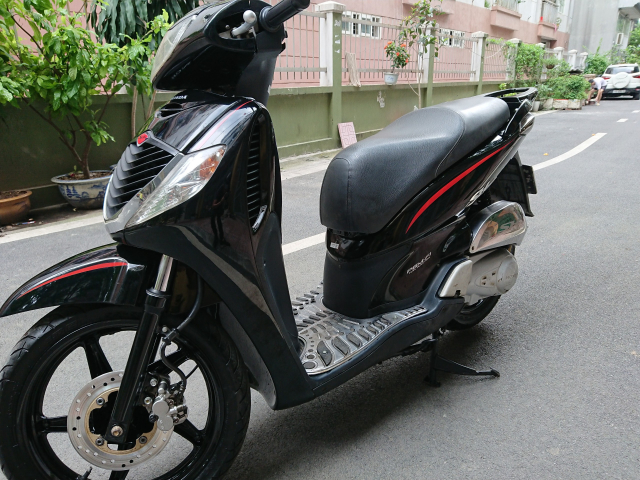 Rao ban Honda Sh 150i Black Sport 2009 bien HN nguyen ban - 3