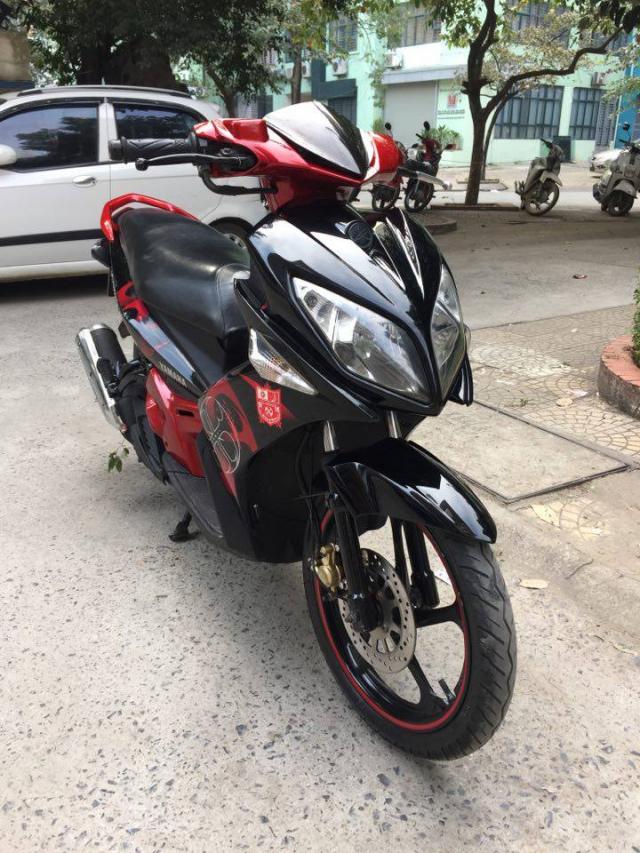 Rao ban xe Yamaha Nouvolx 135 Limited do den rat moi may chay cuc phe - 3