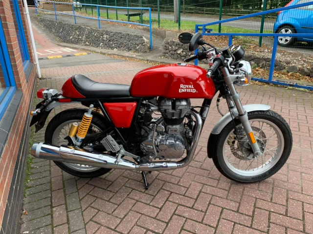 Royal Enfield GT 535 Red LH0937686829 - 3