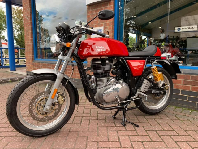 Royal Enfield GT 535 Red LH0937686829 - 4