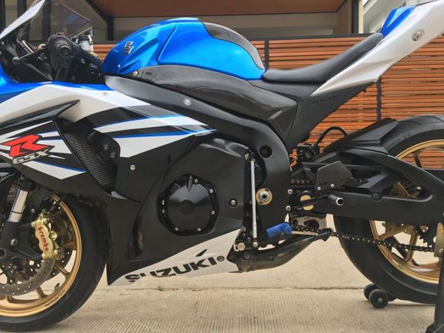 Suzuki GSXR1000 ban nang cap sac mui cong nghe tu nghe danh Ca heo xanh - 9