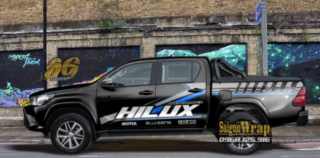 Tem Do Ban Tai Pickup Doc Dao 2018 2019 Ranger SaiGonWRAP Do Tem Xe Chuyen Nghiep - 22
