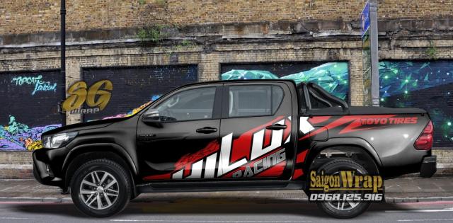 Tem Do Ban Tai Pickup Doc Dao 2018 2019 Ranger SaiGonWRAP Do Tem Xe Chuyen Nghiep - 20