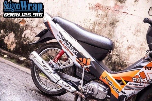 Tem Nhom Che Sirius RC Dep Nhat 2018 SaiGonWRAP Do Tem Xe Chuyen Nghiep - 20