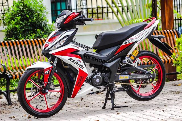 Winner 150 do cua nu Biker Sai Gon len y tuong - 3