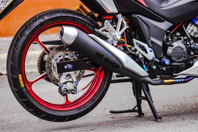Winner 150 do cua nu Biker Sai Gon len y tuong - 8