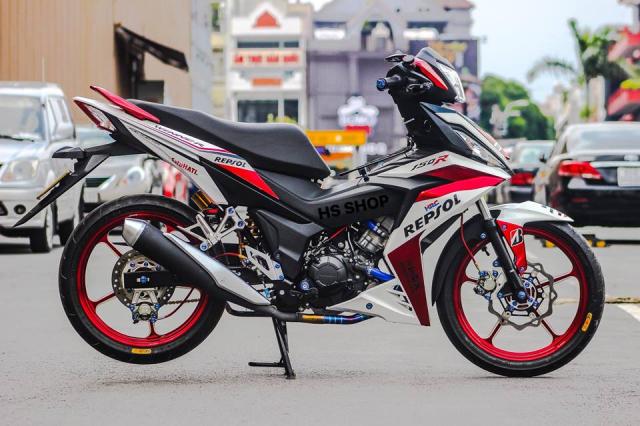 Winner 150 do cua nu Biker Sai Gon len y tuong - 11