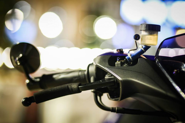 Yamaha Aerox ban do Movistar den tu Thai Lan - 3