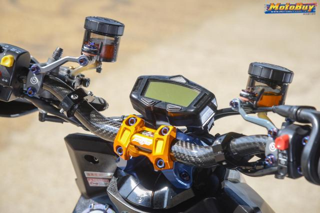 Yamaha BWS 125 2018 do dan chan doc nhat vu tru cua biker xu Dai - 5