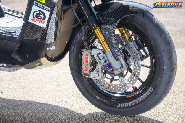 Yamaha BWS 125 2018 do dan chan doc nhat vu tru cua biker xu Dai - 7