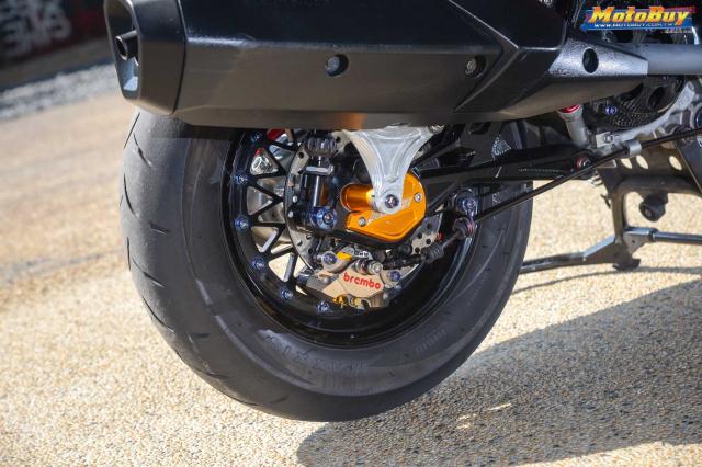 Yamaha BWS 125 2018 do dan chan doc nhat vu tru cua biker xu Dai - 10
