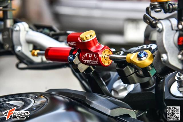 Yamaha MT09 day tuoi tan voi dan trang bi dinh dam - 3