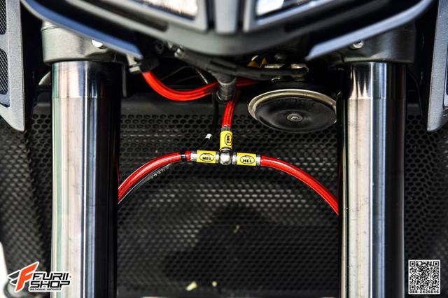 Yamaha MT09 day tuoi tan voi dan trang bi dinh dam - 9