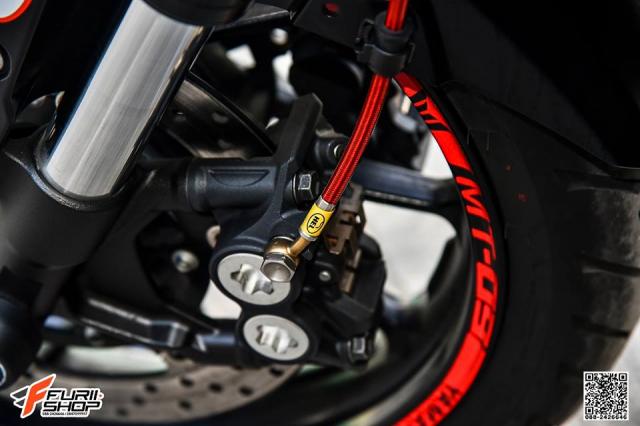 Yamaha MT09 day tuoi tan voi dan trang bi dinh dam - 11