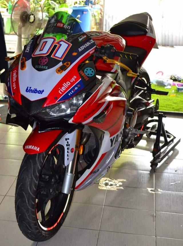 Yamaha R3 ham ho theo phong cach MotoGP - 5