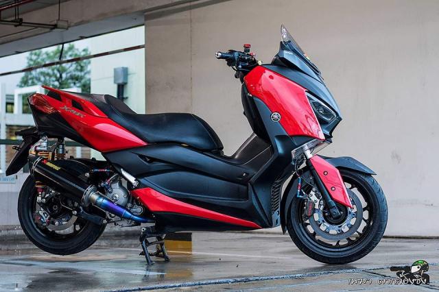 Yamaha XMax300 ruc ro ben dan do khung - 3