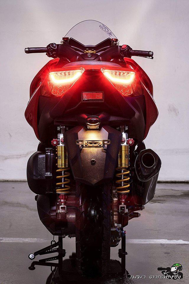Yamaha XMax300 ruc ro ben dan do khung - 13
