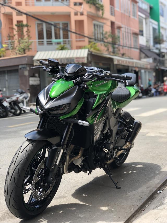 __ Ban kawasaki Z1000 ABS date 2018 mau moi odo 1900km Bao kg tua dong ho HQCN DKLD T52018 - 9
