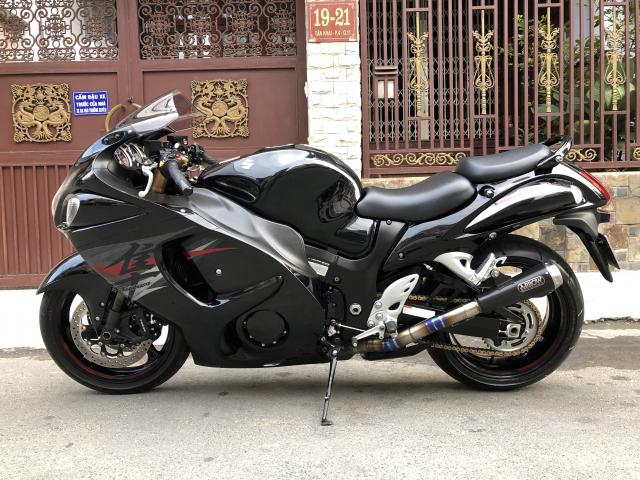 __ Ban SUZUKI Hayabusa 1300cc Than gio odo 1300km HQCN DKLD T82015 chinh chu dung ban