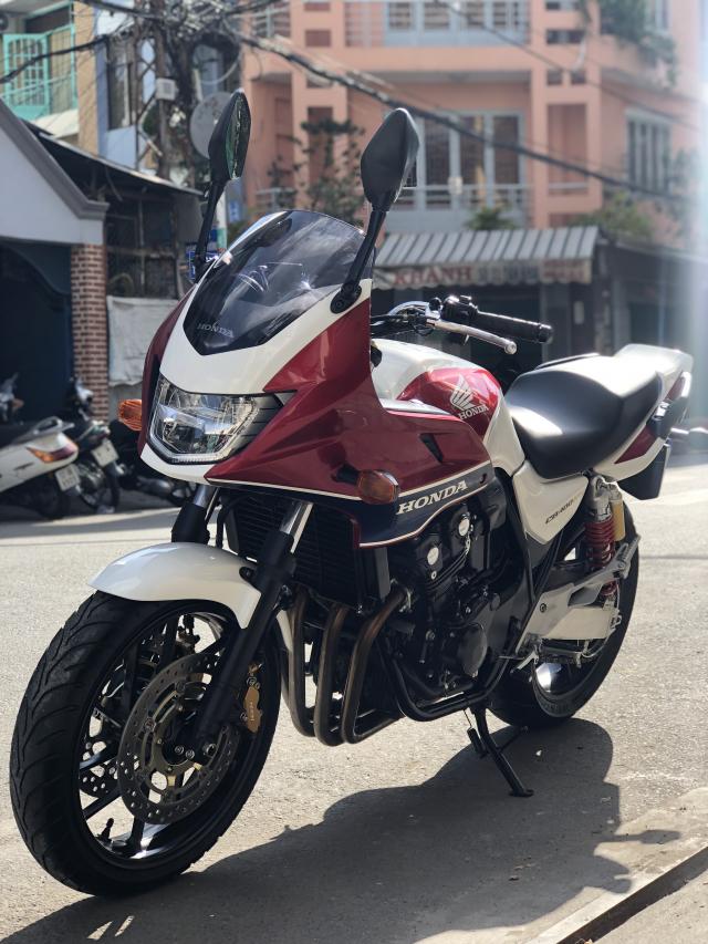 __Can Ban HONDA CB400 Revo ABS Super bol dor DKLD 52016 mau trang do mau moi odo 1900km - 8