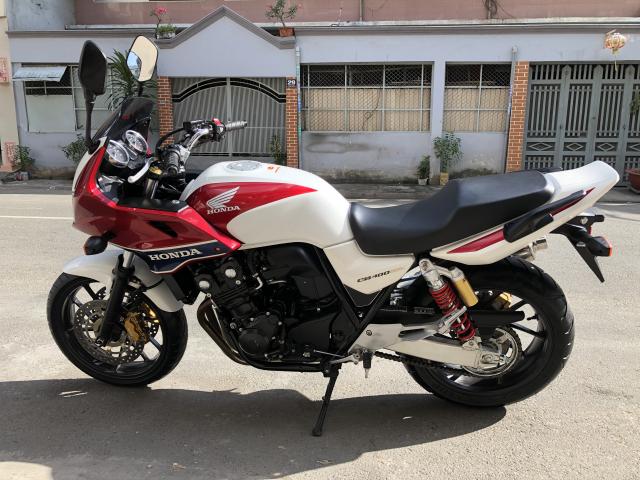 __Can Ban HONDA CB400 Revo ABS Super bol dor DKLD 52016 mau trang do mau moi odo 1900km - 11