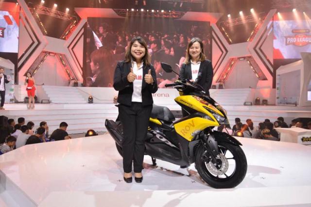 Aerox 155 phien ban gioi han Lien Quan mobile chi 20 chiec - 4