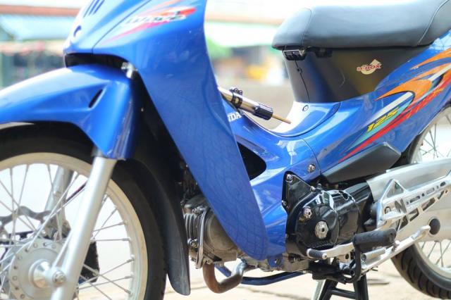 Wave 125 lung linh trong mot ban do cuc chat cua Biker Binh Phuoc - 3