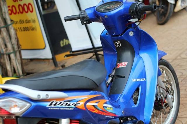 Wave 125 lung linh trong mot ban do cuc chat cua Biker Binh Phuoc - 5