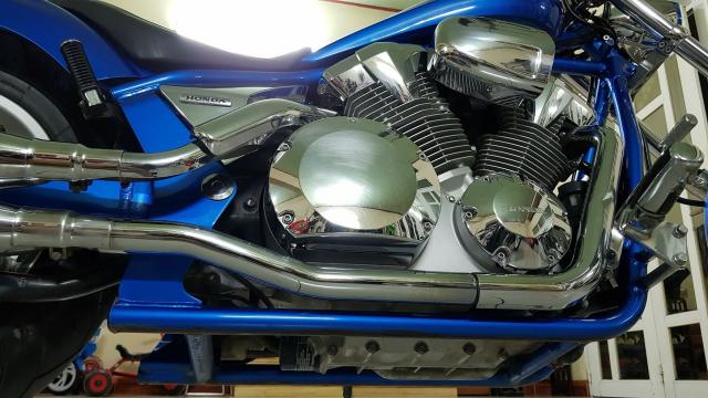 Ban Honda Fury Chopper 1300cc32018Saigon ngay chuHang doc sieu dep - 11