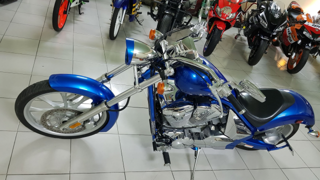 Ban Honda Fury Chopper 1300cc32018Saigon ngay chuHang doc sieu dep - 17