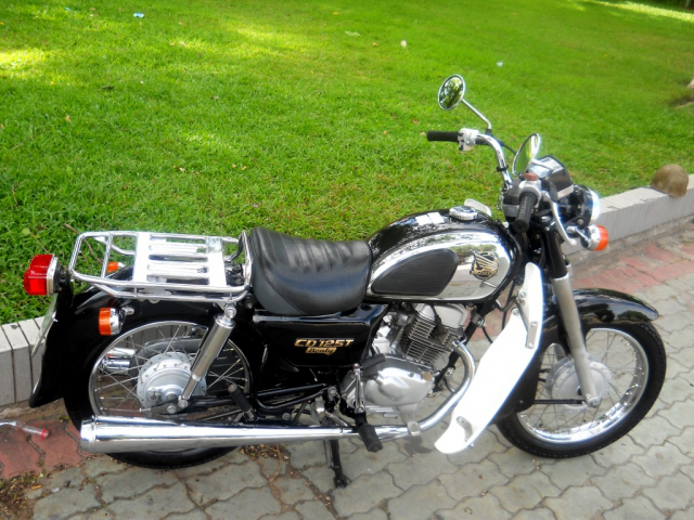 Ban Xe Honda CD125 Benly Doi 2001 Gia 128tr - 9